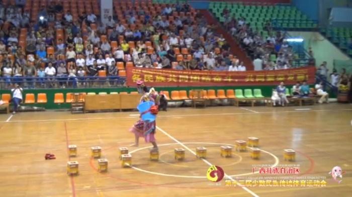 广西第十三届少数民族传统体育运动会资料片各项目比赛集锦(下)1