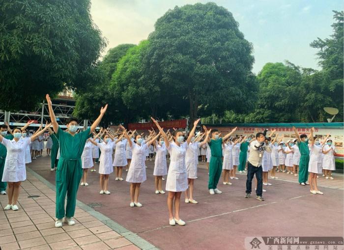 广西医科大一附院举行庆祝5·12国际护士节主题活动