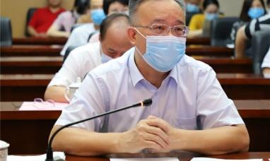自治区黄俊华副主席视频巡查广西首日高考情况
