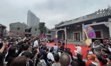 """广西非遗天琴艺术专场演出在南宁""""三街两巷""""举行"""