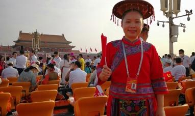 南寧四職校教師譚柳云受邀參加慶祝中國共產黨成立100周年大會