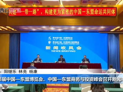 第18届东博会、峰会举行新闻吹风会