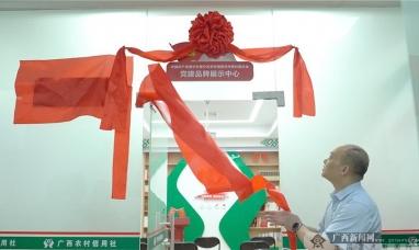 """邕宁联社举行""""党建品牌展示中心""""和""""党史学习文化书屋""""揭牌仪式"""