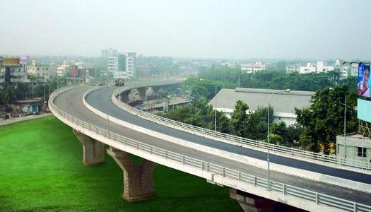 孟加拉达卡市政交通项目CW―1高架桥