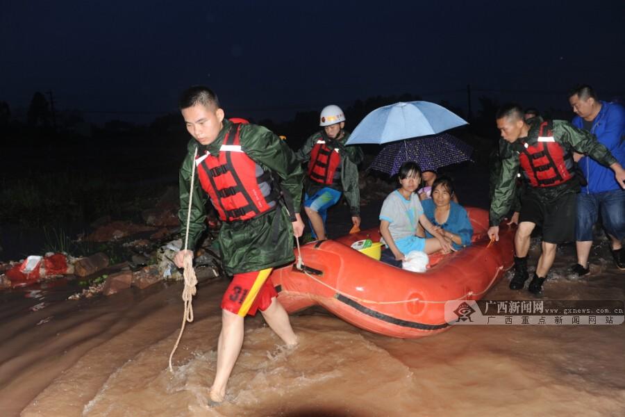 钦州遭遇有气象记录以来最强暴雨