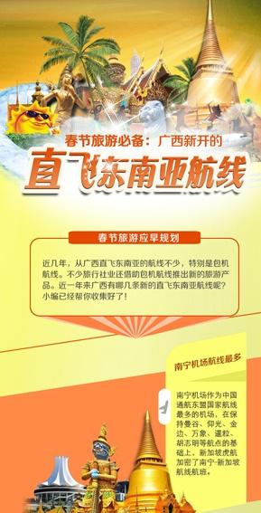 [桂刊]春节旅游必备:广西新开的直飞东南亚航线