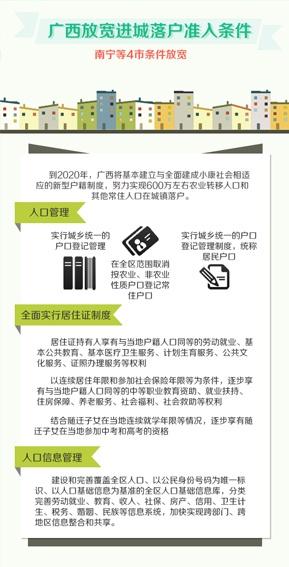 [桂刊]广西放宽进城落户条件