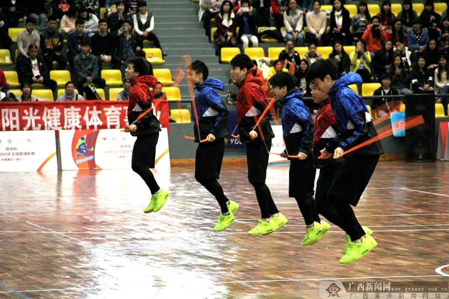 高清:全国跳绳联赛华南赛区在南宁揭幕