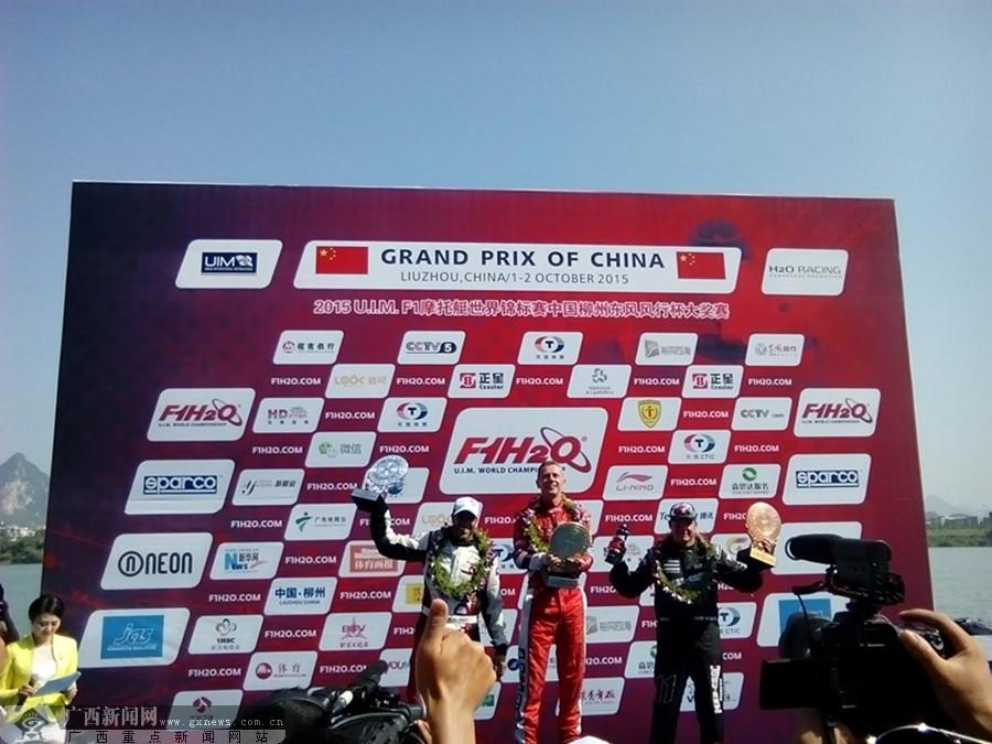 F1摩托艇世界锦标赛中国ag电子游艺官网站开赛 中国队完美夺冠