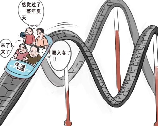 [新桂漫画]广西降温仍难以入冬