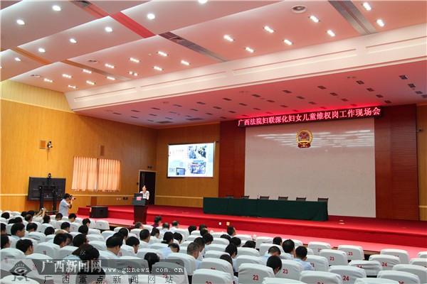 全区法院家事和少年人审判改革工作现场会在柳州召开