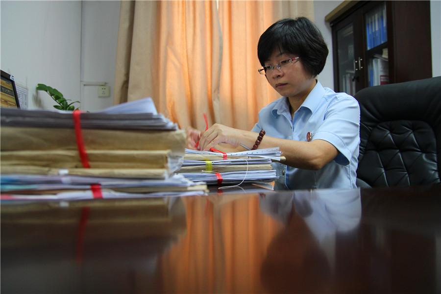 法官陈文:用最真诚的行动为群众排忧解难