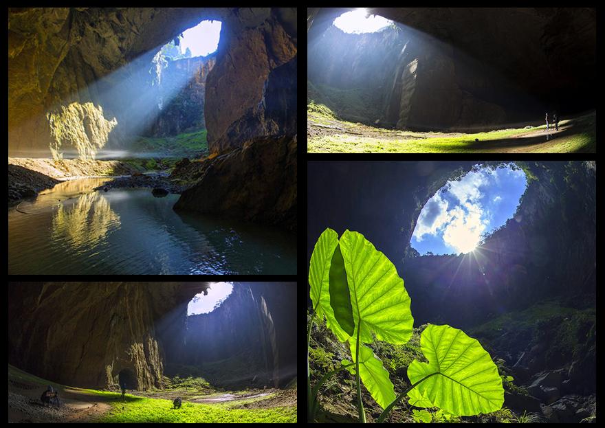 高清:探秘凌云岩流天坑 神秘美景曝光