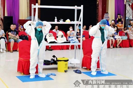 紧急医学救援列入考核 全区医护人员接受急救培训