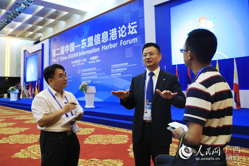 聚贸电子商务有限公司董事长陆宏翔接受采访