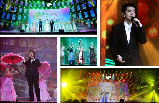 高清:2016南宁国际民歌艺术节晚会精彩上演