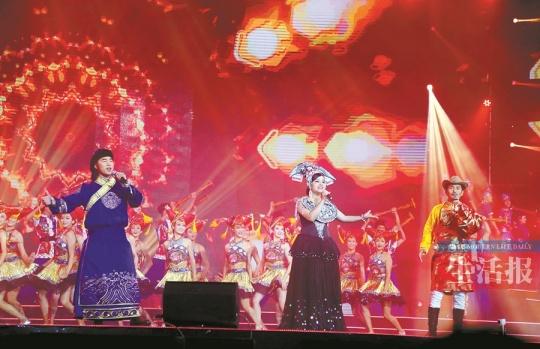 第18届南宁国际民歌艺术节唱响 浓浓