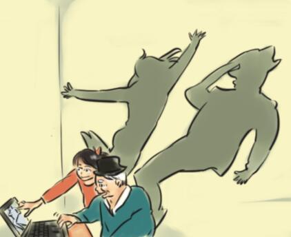 """[漫画]行孝""""新潮""""路线 留住父母""""笑颜"""""""