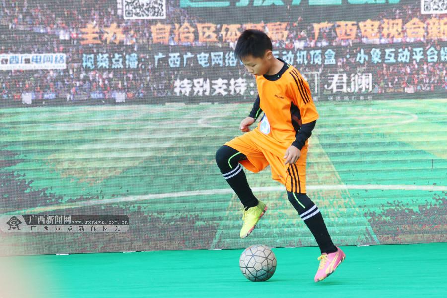中国杯牵手球童选拔南宁站:选手多才多艺可堪期待
