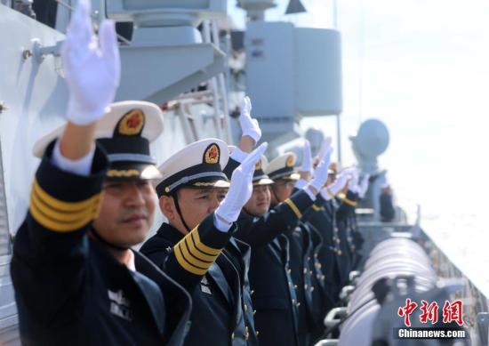 """中俄""""海上联合—2017""""军事演习第一阶段结束"""