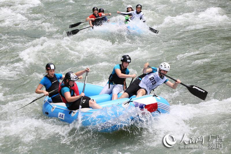 2017漂流世界杯大赛在广西资源火热开赛