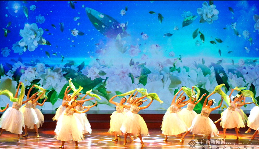 高清组图:2017年中国(横县)茉莉花文化节开幕
