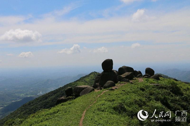 山石奇观——广西浦北五皇山国家地质公园
