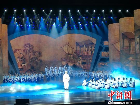 2017洛阳河洛文旅节开幕 七国文艺团展演