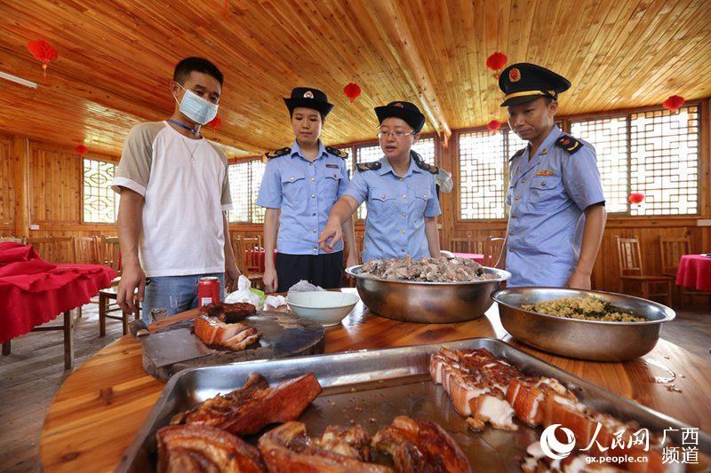 广西融安节日食品安全监管不放假