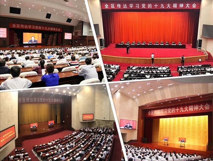 广西召开传达学习党的十九大精神大会