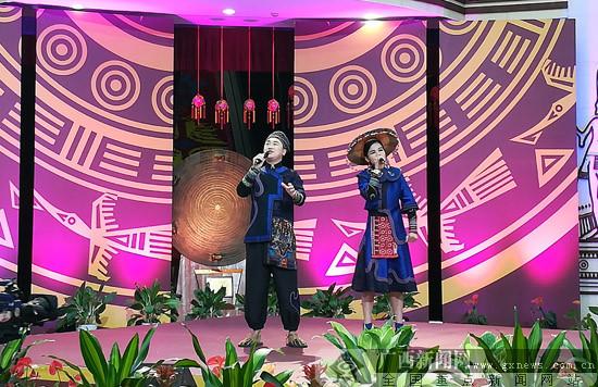 """2017""""广西民歌会""""总决赛在广西民族博物馆举行"""