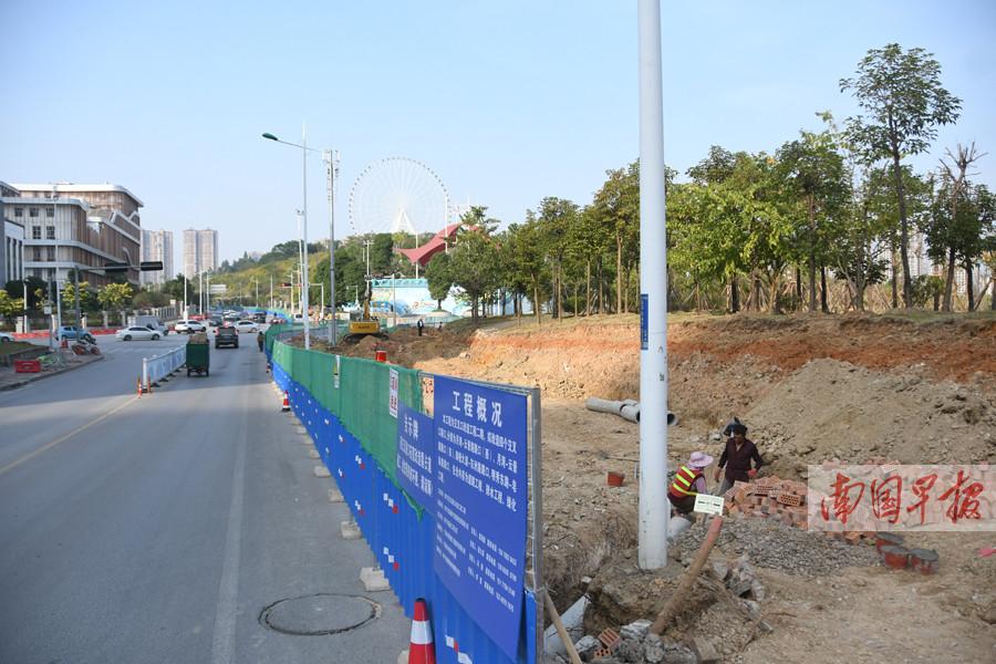 12月26日焦点图:南宁3项目占道施工 涉60多条道路