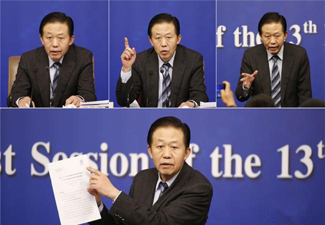 两会表情N连发:部长答问间的改革力度
