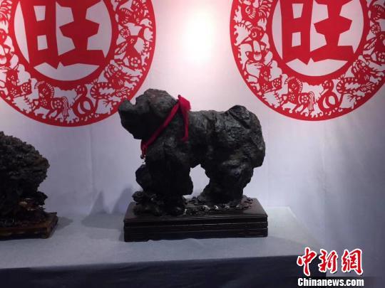 """百方""""生肖名石""""太原竞秀 传承赏石文化"""