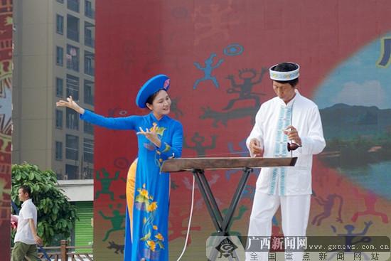 """高清:""""文化和自然遗产日""""广西主场活动在宁明举行"""