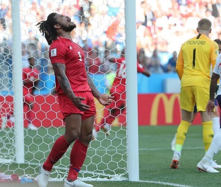 【世界杯】G组:英格兰队6比1胜巴拿马队