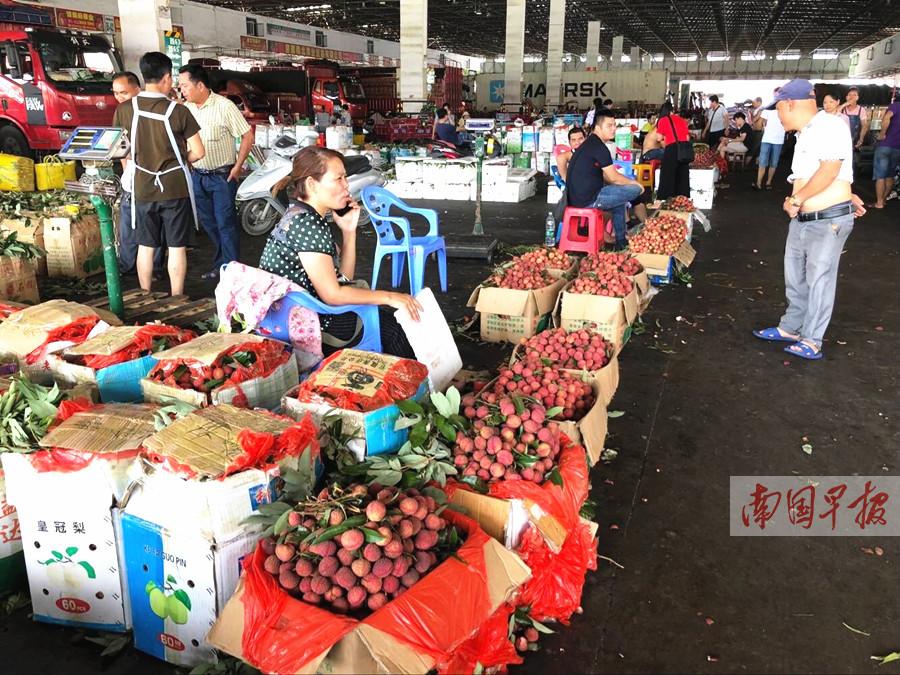 6月26日焦点图:今年广西荔枝丰收 价格却一路下跌
