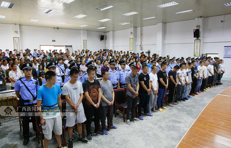 缴获制毒原材料100余吨 广西最大制毒案一审宣判