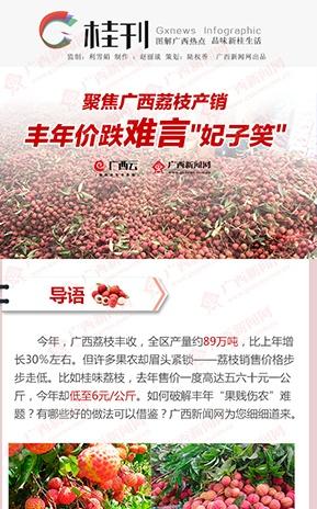 """【桂刊】聚焦广西荔枝产销: 丰年价跌难言""""妃子笑"""