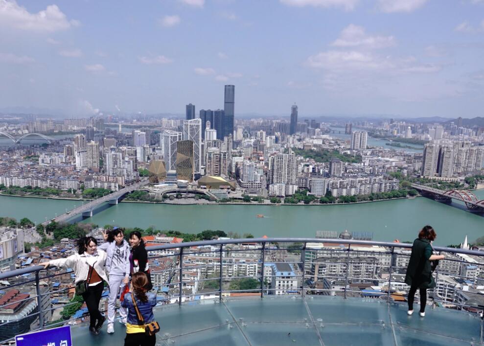 高清:春花秋水展现生态宜居新貌 工业柳州若画卷