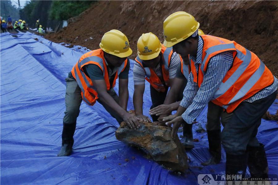 中铁上海工程局主动参加南昆铁路抢险获赞誉