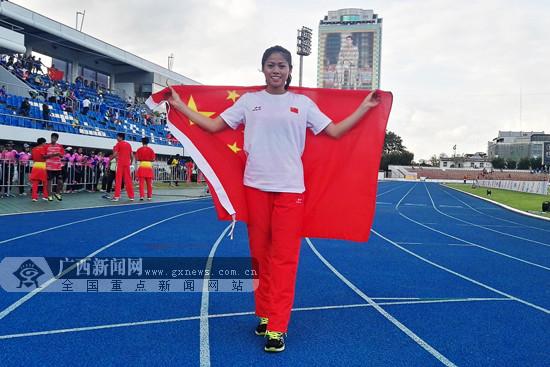 第三届青奥会亚洲区预选赛:广西王美茹200米摘银
