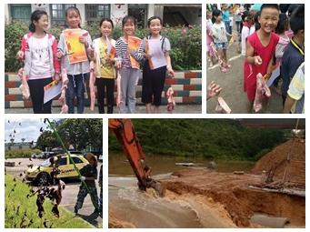 焦点图:柳州一学校发猪肉奖励学生