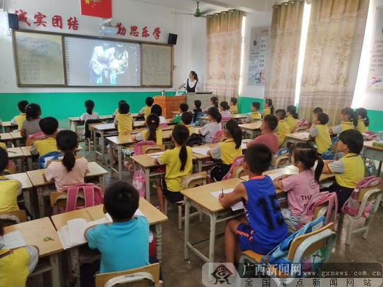 大化30余所学校开展戏曲进校园活动