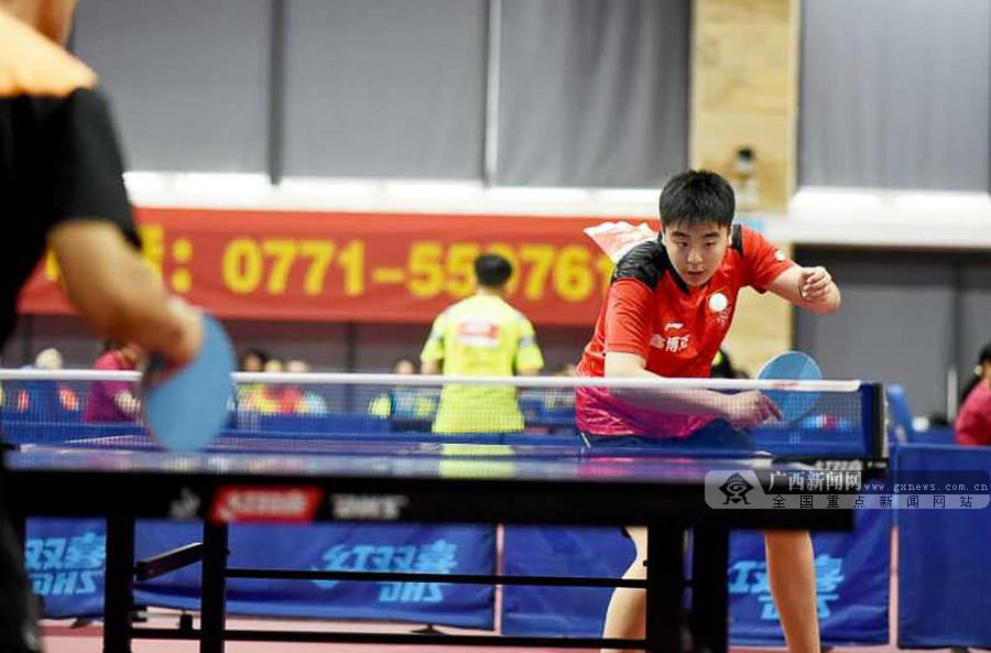 2018全国第二届砂板乒乓球团体锦标赛在南宁打响
