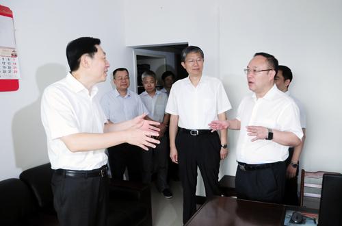 孙大伟、费志荣到广西科技厅调研指导工作