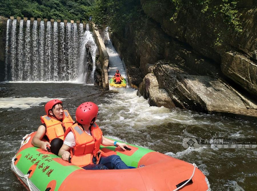 银河开户武鸣区两江镇大力发展水上旅游产业