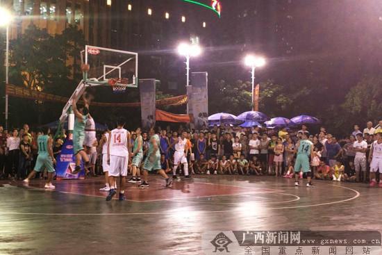 来宾市篮球俱乐部联赛战幕拉开 53支队伍展球技