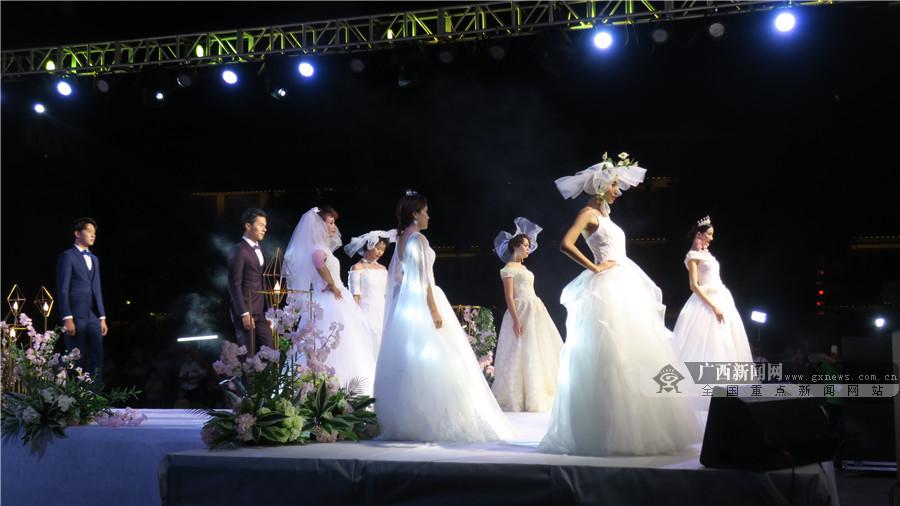 高清图集:田阳婚礼秀晚会 不一样的视觉盛宴