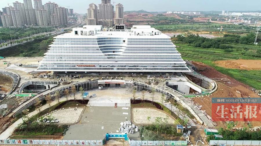 南宁市图书馆新馆通过验收 计划12月试运行(图)